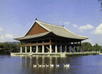 Korea - Seoul - Gyeonghoeru Pavilion Kyŏngbokkung Palace