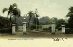 Singapore – Tanglin – Entrance Botanic Garden
