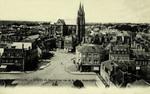 Moulins - L'Église du Sacré-Cœor vue de la Thur Saint-Gilles