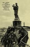 Le Puy - Statue de N-D de France sur le Rocher Corneille