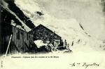 Chamonix - Cabane des Gds mulets et le Mt-Blanc
