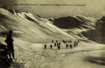 Modane (Savoie) - Détachment de Skieurs dans le Vallon d'Arrondaz
