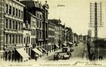 Antwerp - Vue perspective du Quai Plantin