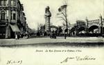 Antwerp - La Rue Simons et le Château d'Eau