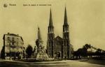 Antwerp - Eglise St. Joseph et monument Loos
