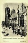 Brussels - Église Sainte-Gudule, Portail Méridional