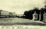 Brussels - Palais du Roi et Entrée du Parc
