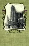 Ghent - La cathédrale vue de la place Laurent