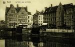Ghent - Le Pont et quai aux herbes