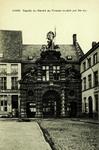 Ghent - Façade du marché au Poisson sculpté par De etc.