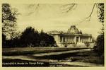 Tervuren - Musée du Congo Belge,  Façade principale
