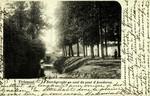Tienen  - Le Borchgracht en aval du pont d'Aendoren