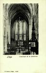 Liège - L'intérieur de la Cathédrale
