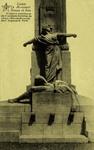 Ans - Loncin, Le Monument Croupe de face