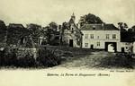Waterloo - La Ferme de Hougoumont (Ruines.)