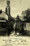 Bruges - Vue prise de l'estaminet de la Vache