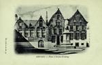 Belgium – Bruges – Place et Statue Memling
