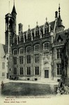 Bruges - Hôtel Gruuthuse, façade septentrionale