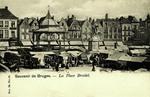 Bruges - La Place Breidel