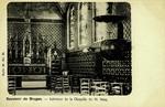Bruges - Intérieur de la Chapelle du St. Sang