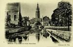 Bruges - Le Canal et la Flèche Notre-Dame