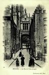 Bruges - La Rue de l'Ane-Aveugle