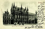 Belgium – Bruges – Hôtel de Ville et la Chapelle du St. Sang