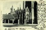 Belgium – Bruges – Le Paradis de l'Église Notre Dame et l'Hôtel Gruuthuse