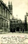 Belgium – Bruges – Entrée de la Chapelle du St. Sang et l'Ancien Greffe Criminel