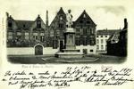 Belgium – Bruges – Place et Statue de Memling