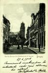 Bruges - Rue des Pierres et la Cathédrale du St. Sauveur