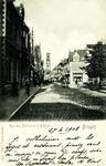 Bruges - Rue des Pierres et le Beffroi
