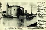 Bruges - La Porte de St. Croix et les Moulins des Remparts