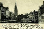 Bruges - Quai Rosaire et l'église Notre Dame
