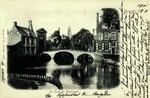 Bruges - Le pont du Béguinage