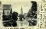 Belgium – Bruges – Église du Béguinage et Canal de la Vigne