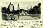Bruges - Le Minnewater ou le lac d'amour
