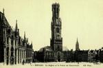 Belgium – Bruges – Le Beffroi et le Palais du Gouverneur