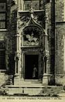 Bruges - Le Palais Gruuthuuse, Porte principale