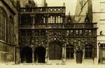 Bruges - Chapelle du Saint-Sang. Portail