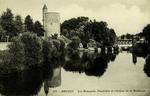 Bruges - Les Remparts. Poudrière et l'Ecluse de la Duchesse