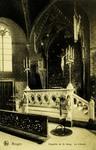 Bruges - Chapelle du St. Sang. La tribune