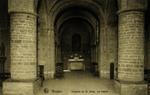 Bruges - Chapelle du St. Sang. La crypte