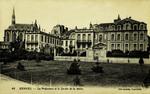 Rennes - La Préfecture et le Jardin de la Motte