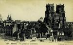 Rennes - Vue générale sur la Cathédrale