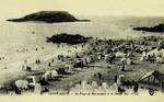 Saint-Malo - La Plage de Bon-Secours et le Grand Bey