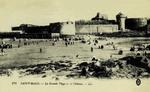 Saint-Malo - La Grande Plage et le Château
