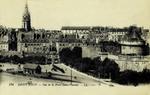 Saint-Malo - Vue de la Porte Saint-Vincent