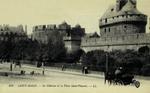 Saint-Malo - Le Château et la Place Saint-Vincent