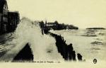 Saint-Malo - Le Sillon un jour de Tempête